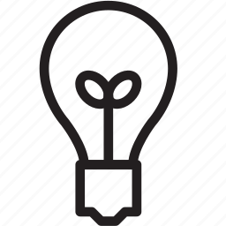 bulb, idea, lamp, light, saving icon
