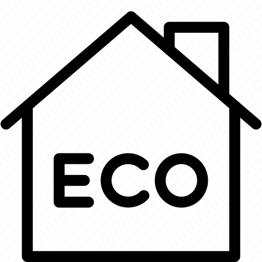 eco, efficient, energy, home, house, isolated icon