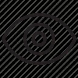 eye, show, view, visability icon