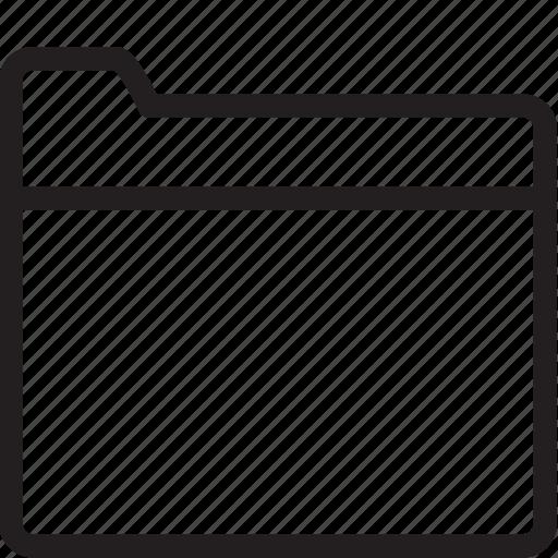 folder, map icon