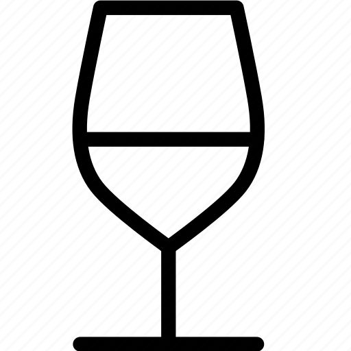drink, glass, vine, wine icon