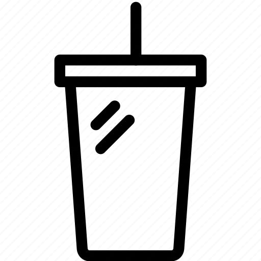 beverage, coke, drink, glass, soda icon