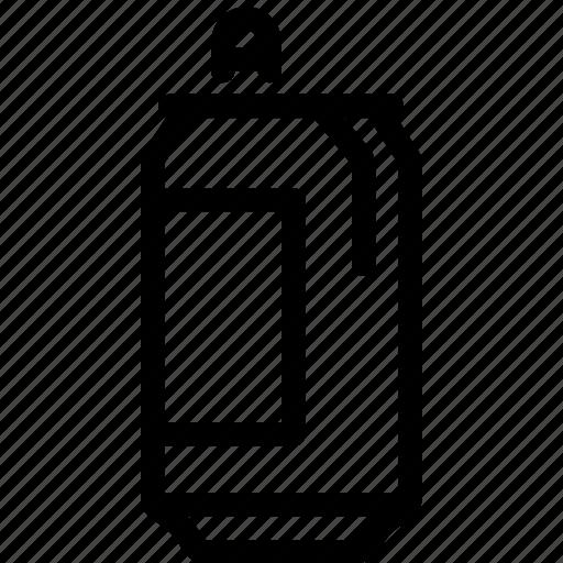 can, coke, drink, pepsi, soda, trashcan icon