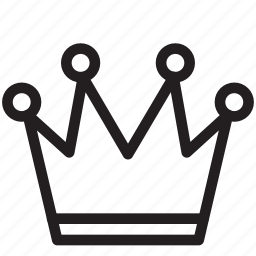 chess, crown, game, play, playing, queen icon