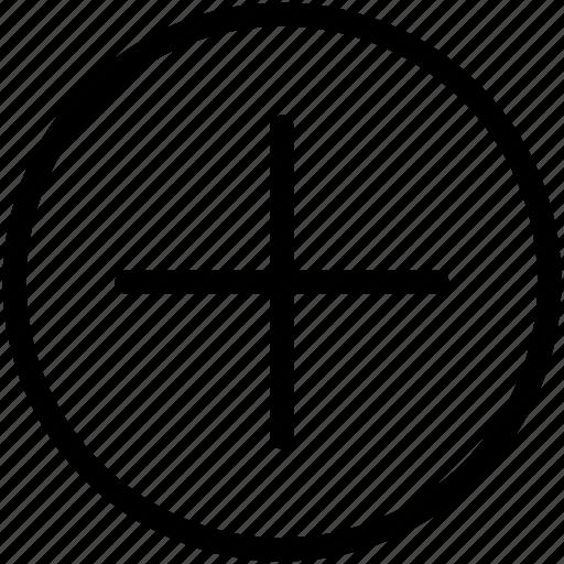 add, create, new, plus icon