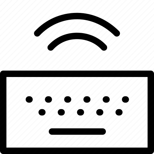antenna, connection, keyboard, radio, wi-fi, wireless icon