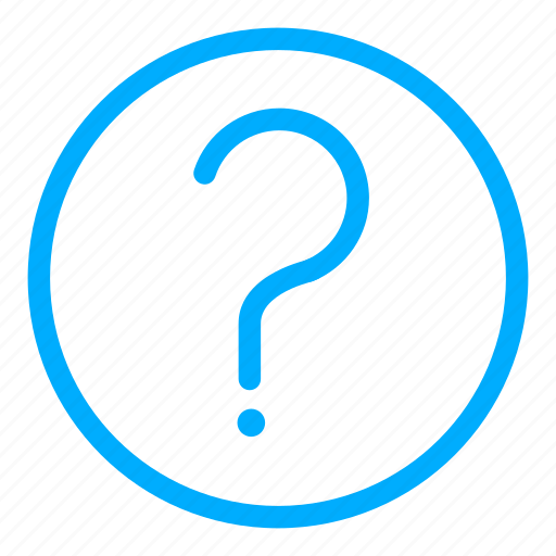 about, ask, faq, help, info, question, support icon