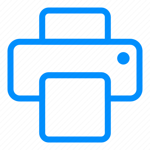 device, fax, machine, print, printer, printing icon