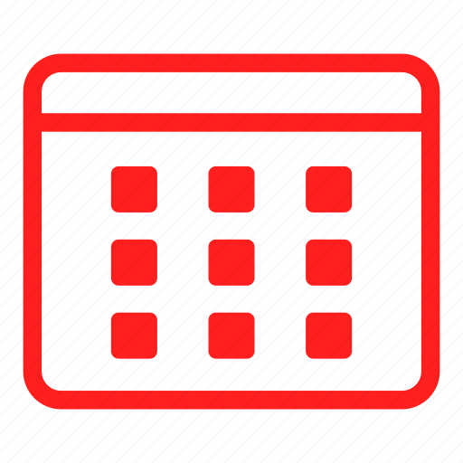 calendar, date, day, event, months, time, timer icon
