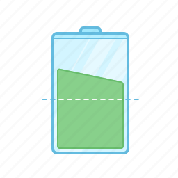 bank, battery, charge, electricity, level, power icon