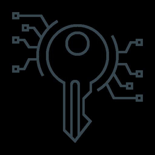 development, key, keywords, password icon