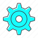 cogwheel, gear, configuration, options, settings