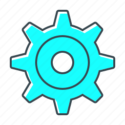 cogwheel, configuration, gear, options, settings icon