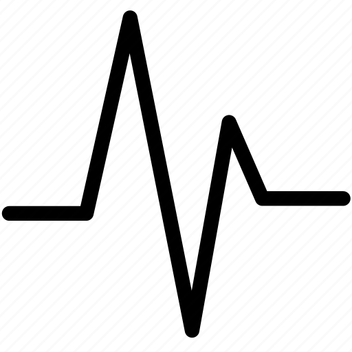 activity, healthcare, heart, medicine, pulse, rate icon