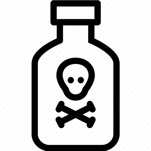 chemistry, deathly, drug, laboratory, medicine, pharmacy, poison icon