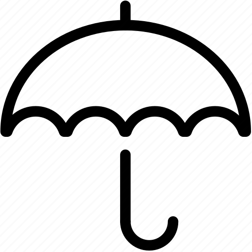 forecast, rain, rainy, storm, umbrella, water, weather icon