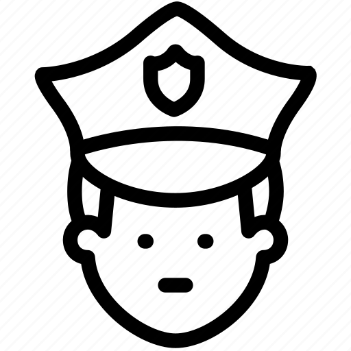 deputy, officer, policeman, protect, protection, safety, security icon