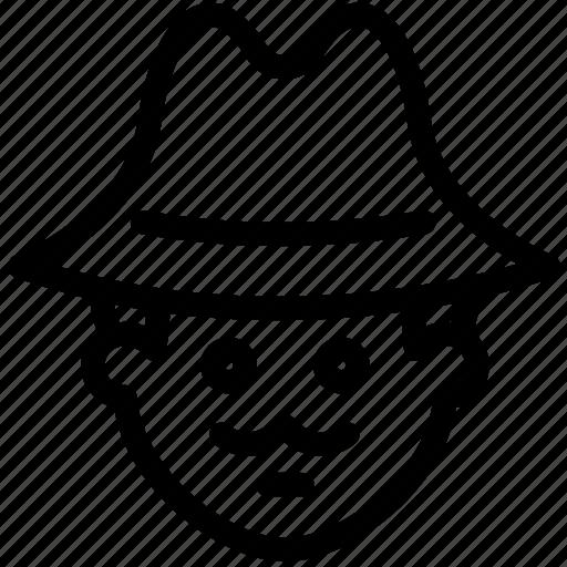 crime, criminal, detective, investigation, police, sherlock icon