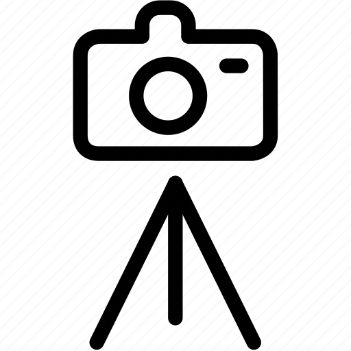 camera, photo, photography, picture, shooting, stand, tripod icon