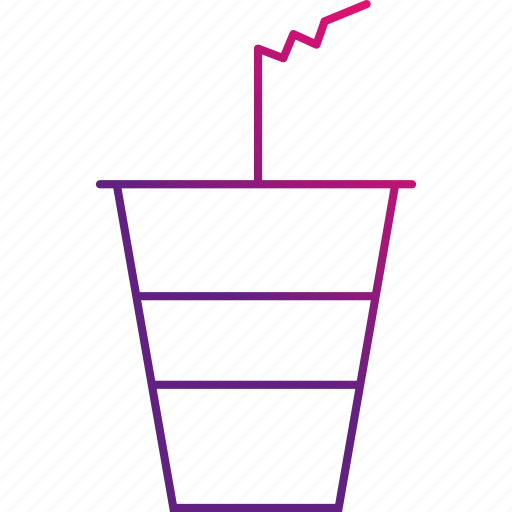 cup, drink, paper, soda, water icon