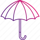 protection, rain, umbrella, weather icon