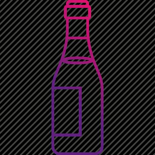 alchohol, bottle, drink, wine icon