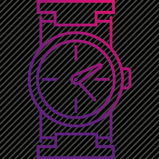 clock, hour, time, watch, wrist icon