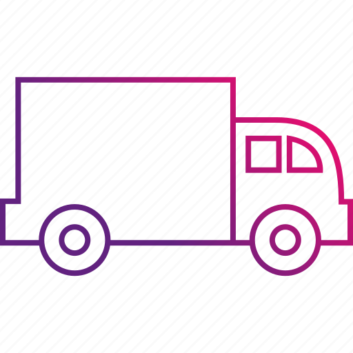 delivery, move, package, transport, transportation, truck icon