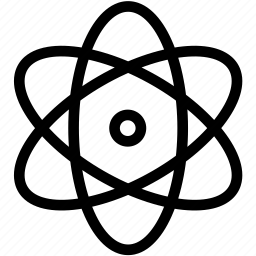 Nuclear, physics, atom, science, lab, research, test icon - Download