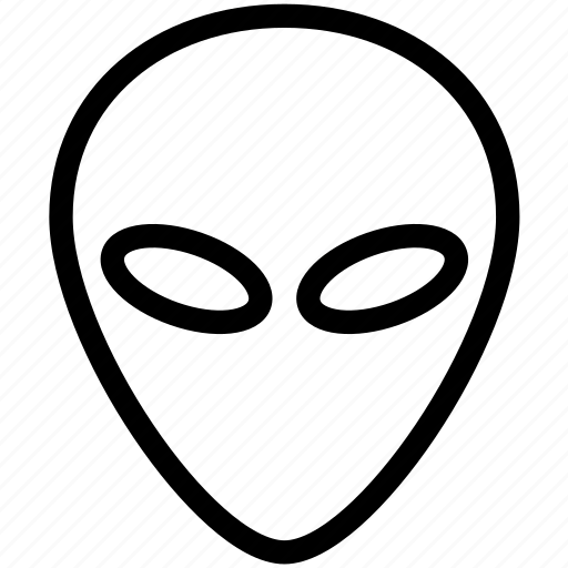 alien, communication, space, ufo icon