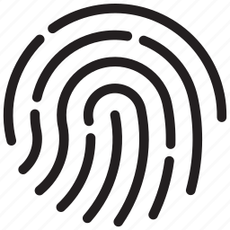 access, finger, fingerprint, id, privacy, security, touch icon