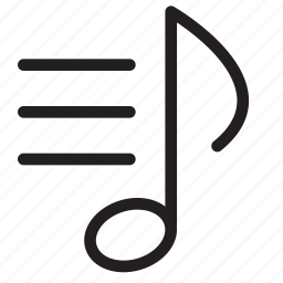 album, media, multimedia, music, note, playing, playlist icon