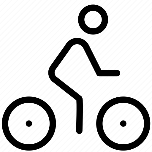 bicycle, cycling, exercise, fitness, health, sport, training icon