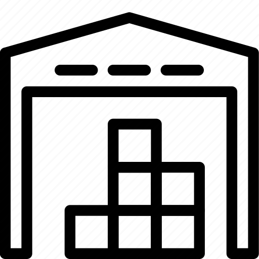 storage, storehouse icon
