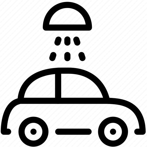 automobile, car, care, service, vehicle, wash icon