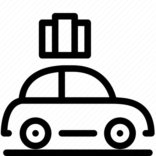 car, moving, road, roadtrip, travel, trip, vacation icon