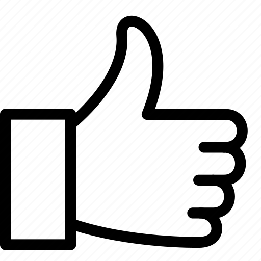 thumbs, thumbs up, up icon