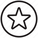 award, bookmark, favorite, favorites, point, rating, star icon