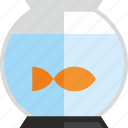 aquarium, fish, pet, water icon
