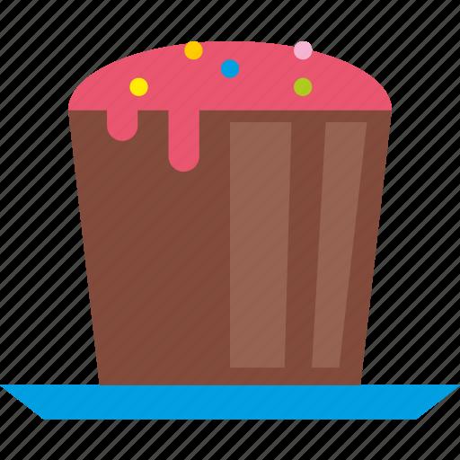 cake, dessert, food, kitchen icon