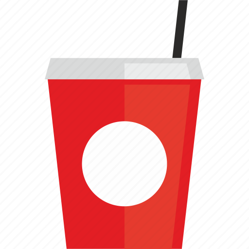 coke, cola, cup, drink, food icon