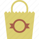 bag, package, paper, shopping icon