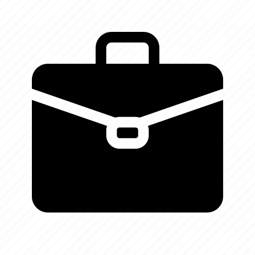 briefcase  job  office  suitcase  work icon