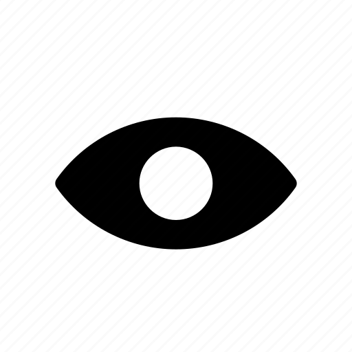 eye, show, visible, vision icon