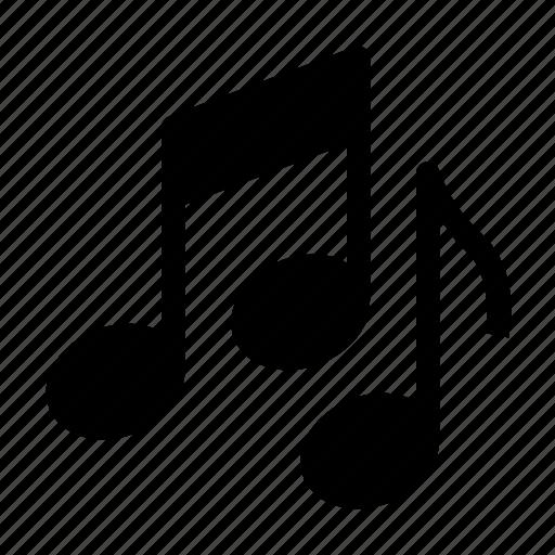 audio, entertaiment, music, notes, sound icon