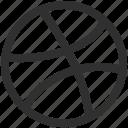 dribbble, social icon