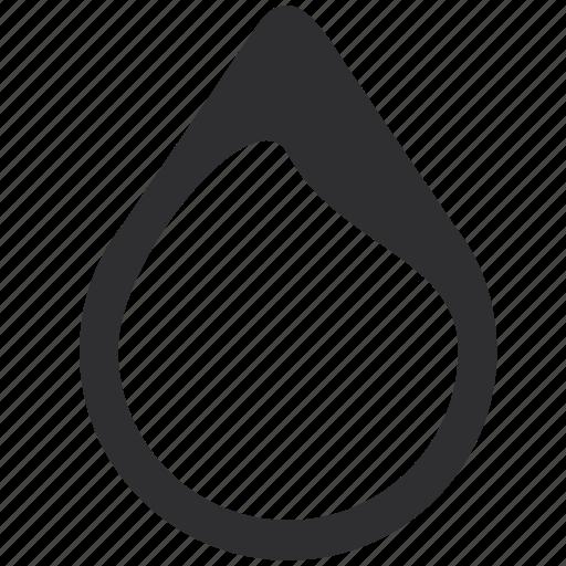blob, drop, tear icon