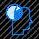 diagram, graph, head, thinking