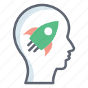 creativity, idea, imagination, innovation, inspiration icon