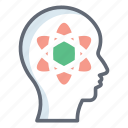boosting, mind ability, mind capacity, mind potential, mind power icon